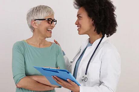 Advice on menopause